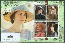 GUYANA  2014  'DOWNTOWN ABBEY' SHEET MINT NH