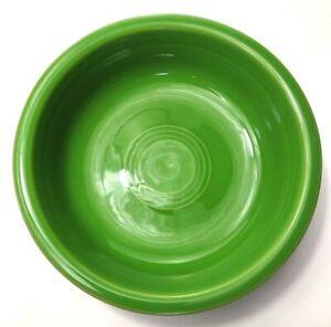 "Fiestaware Dark Green Bowl Made in USA 6 7/8"" 16 oz. Vintage"