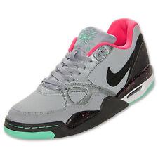 Nike Flight 13 Low Basketball Shoes 599467-006 Silver/Gray/Pink/Green Men's 10