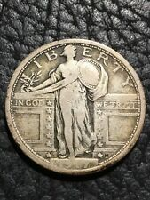 1917 TYPE 1 - STANDING LIBERTY QUARTER - F+ - INV#6259