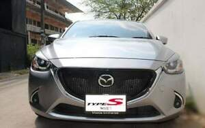 Front grill mazda2 2014-2017