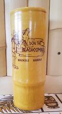 Tiki Mug  Vintage Don the Beachcomber Waikiki Bamboo Mug