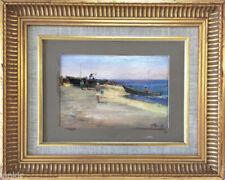 Peintures du XXe siècle et contemporaines à l'huile encadrées sur le paysage