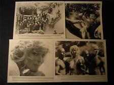 1981 Bo Derek Richard Harris Tarzan The Ape Man VINTAGE 8 MOVIE PHOTO LOT 531W