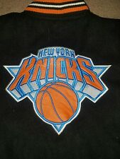 New York Knicks Youth Blue Jacket by JH Design Size XL NBA Basketball
