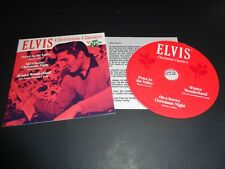 Elvis 2017 Graceland President Fan Club Promo Rare Cd. Insert, Mint.