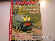 **d RMF n°450 Gare d'Heurtebise en H0 / BB 12000 de Trix / Train de fret Me 120