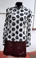 Silk Long Sleeve Button Down Shirts for Women