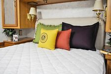 Ultima-Plush Mattress Pad Diamond Quilted Fitted 60x75 Short Queen Deep Pocket