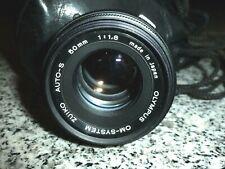 Objektiv Olympus OM-System Zuiko Auto-S  50mm 1:1,8