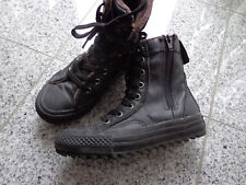 Converse All Star Jungen (Winter-) Stiefel Gr: 29; Schwarz; Gefüttert; Echt Lede