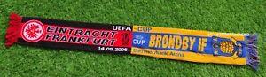 Eintracht Frankfurt  BRONDBY IF UEFA CUP 2006 SCARF FOOTBALL SOCCER UNISEX