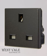 Legrand Arteor - 5726 11 -  45 x 45mm 13a Un-switched UK Socket Module Magnesium