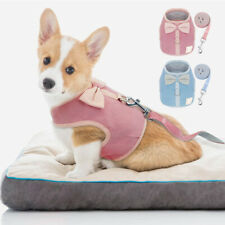 Dog Cat Walking Harness Leash Cute Mesh Vest Small Pet Puppy Kitten Clothes S-L