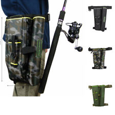 Fishing Waist Carry Bag Shoulder Leg Pack Lure Rod Tackle Pouch with Case Box