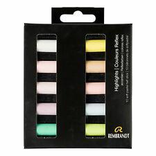 Royal Talens Rembrandt Demi Bâton Doux Pastels Set de 10 Hightlights Couleurs
