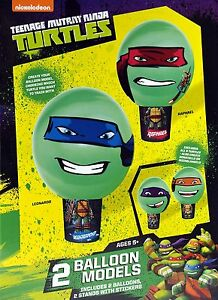 Teenage Mutant Ninja Turtles Balloon Models Making Kit - Party Toys