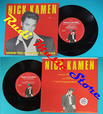LP 45 7''NICK KAMEN Loving you is sweeter than ever Baby 1987 italy no cd mc*dvd
