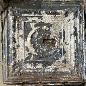 "ANTIQUE METAL TIN CEILING TILE 24"" X 24"" (RM5)"
