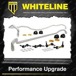 Whiteline Front Rear Sway Bar Vehicle Kit for Subaru Legacy Liberty Outback BP