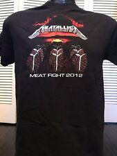 Rare Metallica Meat Promo Shirt Sz S Megadeth Rock Slayer Thrash Metal Venom