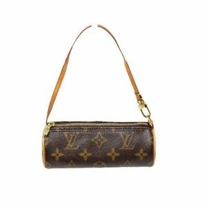 100% Auth Louis Vuitton Mini Papillon Monogram PouchHand Bag