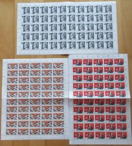 Österreich Sondermarken-Bogen 3 Stück (IZ5355), alle Bogen postfrisch**