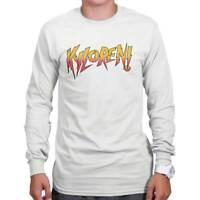 Vintage Eighties Nerdy Pro Wrestling Gym Retro Workout Long Sleeve T Shirt