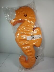 "IKEA Smila SEAHORSE Orange 24"" Wall Hanging Lamp Light Room Decor NEW In Plastic"