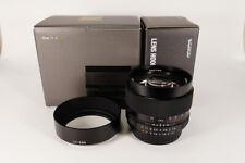 Voigtlander Nokton 58mm f1.4 SL-II for Nikon - w/LH-58N Hood CLEAN