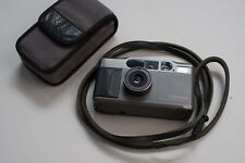 Contax T2 35mm Point & Shoot 38mm f2.8 Titanium Dark Grey Film Camera w/ Strap