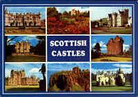 SCOTLAND Schottland Multi-View Postcard Scottish Castles Castle Burg & Burgen