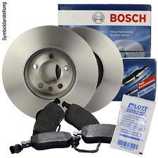Bosch Bremsscheiben und Bremsbeläge mit Wkt Opel Astra H vorne und hinten 5-Loch