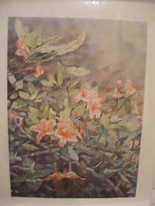 """Listed Artist Ralph Taylor 1988 Signed and Numbered """" Mountain Splendor"""" Print"""
