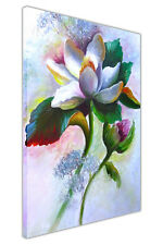 White Lily Spring Canvas Wall Art Prints Deco Oil Painting Re-Print Pictures