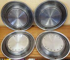 "1970 - 1971 Mercury Montego  14 "" Wheel Covers Hubcaps 683 - Set of 4"