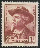France 1941 MNH Mi 506 Sc 419 Frederic Mistral.Poet.Nobel prize winner **