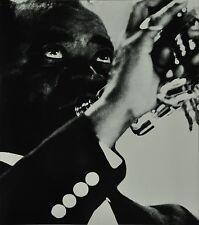 Chargesheimer Original 1961 30x40 Louis Armstrong Jazz Portrait Cologne Concert