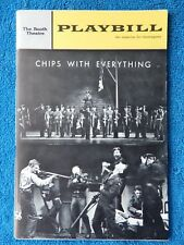 Chips With Everything - Booth Theatre Playbill - February 1964 - Alan Dobie