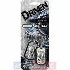 Driven Dog Tags Car Air Freshener Fragrance Scent BLACK OUT