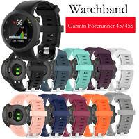 Für Garmin Forerunner 45/45S Silikon Armband Uhrenarmband Uhr Strap Ersatz Band