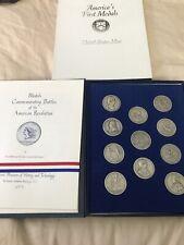 1973 America'S First Medals Commemorating Battles Of American Revolution Usmint