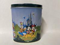 Walt Disney World Magic Kingdom Embossed 3D Raised Metal Collectors Candy Tin