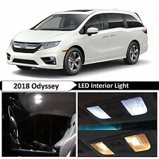 2018 Honda Odyssey White Interior LED Lights Package Kit + TOOL