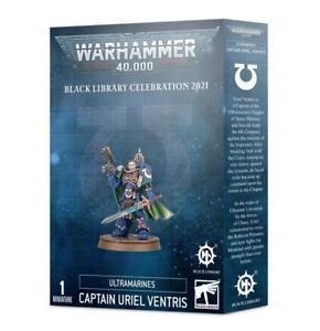Captain Uriel Ventris Space Marines Ultramarines Black Library Warhammer 40K NIB