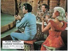 ELVIS PRESLEY SUZANNA LEIGH PARADISE, HAWAIIAN STYLE 1966 VINTAGE LOBBY CARD #1