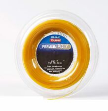 Tourna Premium Poly Tennis String 200m Reel 17G – Gold