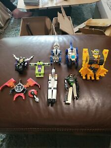 Vintage G1 Transformers Big Lot of 8 Figures Ramjet & More Loose NotAll Complete