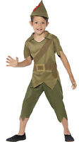Boys Kids Child Robin Hood Smiffys Book Week Day Fancy Dress Costume Outfit 4-12