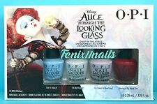 OPI DD A15 Disney ALICE THROUGH THE LOOKING GLASS 4-pc Mini Nail Polish Set NIB